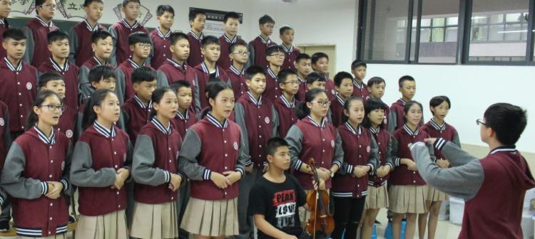 青春飞扬,班歌嘹亮——七、八年级班歌比赛