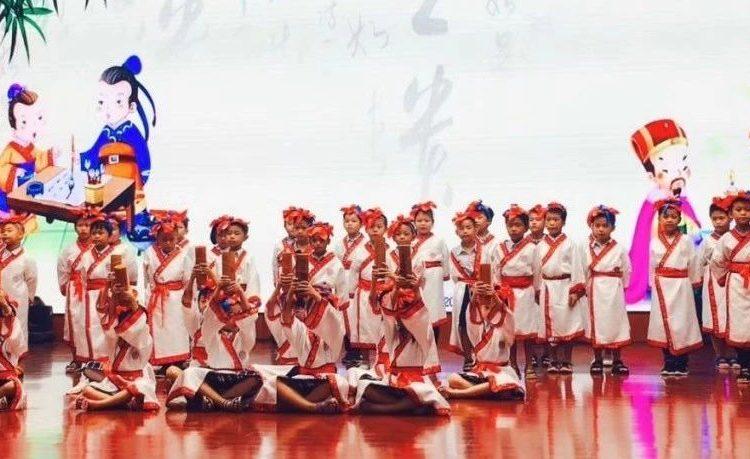 湛江北附:诗意校园 多彩童年  艺术节之班歌比赛