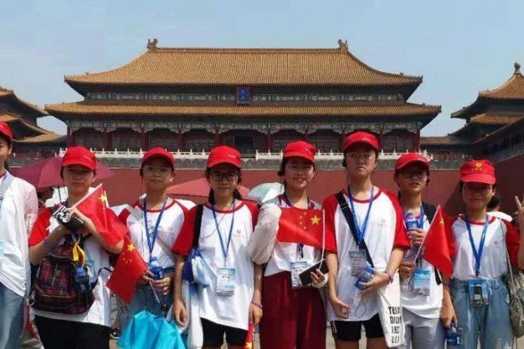 湛江北附:北京励志游学夏令营第三天——中国骄傲之行